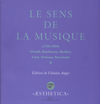 Livre numérique Le Sens de la musique (1750-1900), vol.2