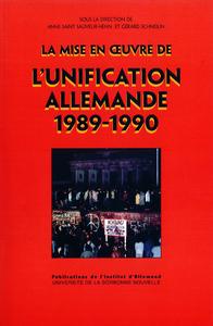 Livre numérique La mise en œuvre de l'unification allemande (1989-1990)