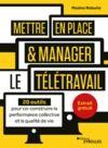 Electronic book Mettre en place et manager le télétravail