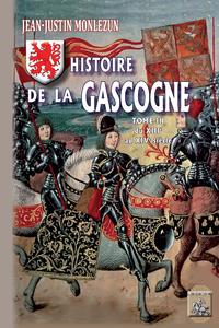 Livre numérique Histoire de la Gascogne (Tome 3)
