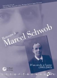 Livre numérique Retours à Marcel Schwob
