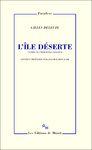 Livre numérique L'Île déserte. Textes et entretiens 1953-1974