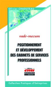 Livre numérique Positionnement et développement des cabinets de services professionnels