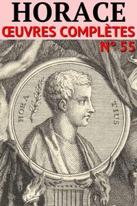Livre numérique Horace - Oeuvres Complètes
