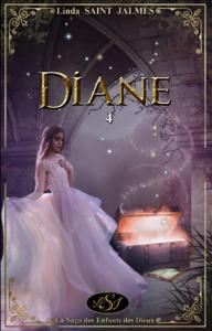 Livre numérique La saga des enfants des dieux : 4 - Diane