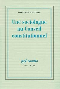 Livre numérique Une sociologue au Conseil Constitutionnel