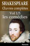 Livre numérique Oeuvres complètes de Shakespeare - Vol. 1/5 : les comédies