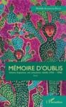 Electronic book Mémoire d'oublis