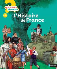 Livre numérique L'histoire de France - Questions/Réponses - doc dès 7 ans
