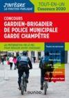 Livre numérique Concours Gardien-brigadier de police municipale - Garde champêtre - 2020