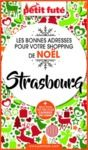 Electronic book SHOPPING DE NOËL À STRASBOURG 2020 Petit Futé