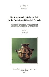 Electronic book The Iconography of Greek Cult in the Archaic and Classical Periods