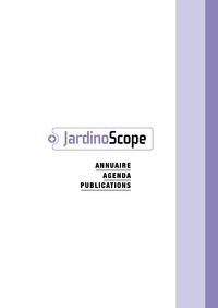 Livre numérique JardinoScope 2014 - 2015