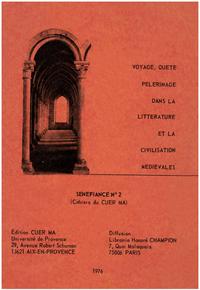 Livre numérique Voyage, quête, pèlerinage dans la littérature et la civilisation médiévales