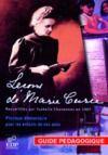 Livre numérique Leçons de Marie Curie - Guide pédagogique