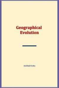 Electronic book Geographical Evolution