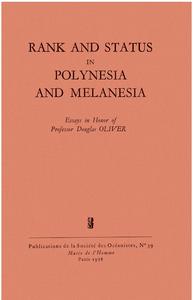 Electronic book Rank and Status in Polynesia and Melanesia