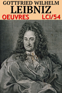 Livre numérique Godefroi Guillaume Leibniz