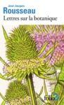 Livre numérique Lettres sur la botanique