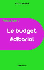 Livre numérique Le Budget éditorial