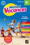 E-Book Cahier de vacances de la 5e vers la 4e - 2020