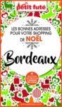 Electronic book SHOPPING DE NOËL À BORDEAUX 2020 Petit Futé