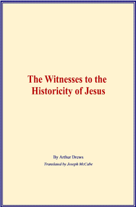 Electronic book The Witnesses to the Historicity of Jesus