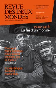 Livre numérique Revue des Deux Mondes janvier 2014