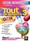 Livre numérique IFSI Tout le semestre 3 en QCM et QROC - Diplôme infirmier - 2e édition
