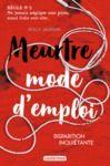 Libro electrónico Meurtre mode d'emploi (Tome 2) - Disparition inquiétante