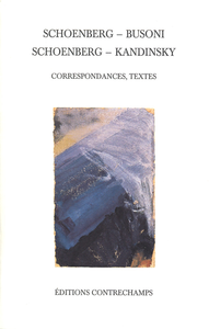 E-Book Schoenberg– Busoni– Schoenberg– Kandinsky