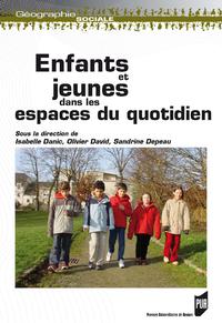 Livre numérique Enfants et jeunes dans les espaces du quotidien