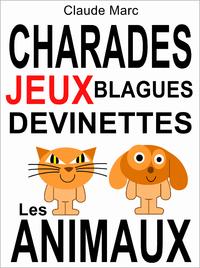 Livre numérique Charades et devinettes sur les animaux. Jeux et blagues pour enfants.
