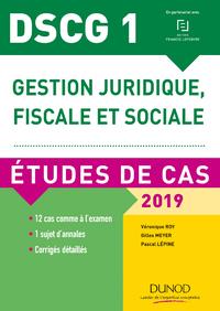 Livre numérique DSCG 1 - Gestion juridique, fiscale et sociale - 2019