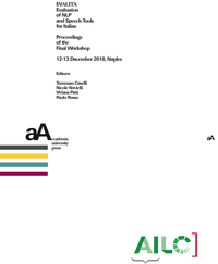 Livre numérique EVALITA Evaluation of NLP and Speech Tools for Italian