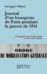 Livro digital Journal d'un bourgeois de Paris pendant la guerre de 1914 - Intégrale