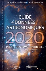 Electronic book Guide de données astronomiques 2020