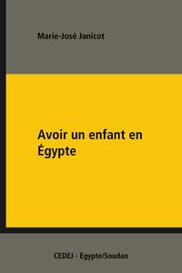 Electronic book Avoir un enfant en Égypte