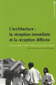 Electronic book L'architecture: la réception immédiate et la réception différée