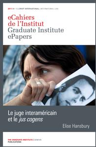 Livro digital Le juge interaméricain et le «jus cogens»
