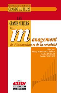 Livre numérique Les grands auteurs en management de l'innovation et de la créativité
