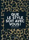 Electronic book Que le style soit avec vous !