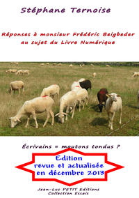 Livre numérique Réponses à monsieur Frédéric Beigbeder au sujet du Livre Numérique