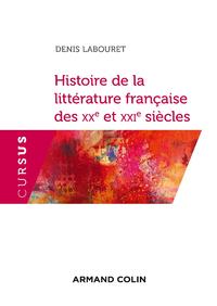 Livre numérique Histoire de la littérature française des XXe et XXIe siècles