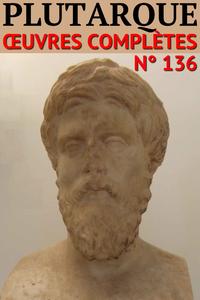 Livre numérique Plutarque - Oeuvres complètes