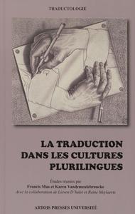 Livre numérique La traduction dans les cultures plurilingues