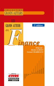 Electronic book Les grands auteurs en finance