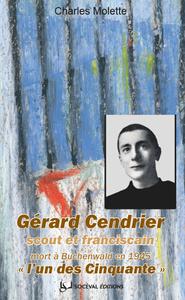 """Livre numérique Gérard Cendrier, """"l'un des Cinquante"""""""