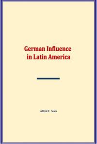 Electronic book German Influence in Latin America