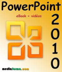 Livre numérique PowerPoint 2010 avec vidéos